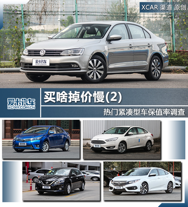 买啥掉价慢(2) 热门紧凑型车保值率调查