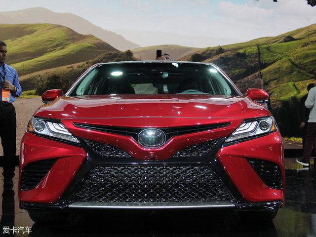 2017北美车展:丰田新一代凯美瑞发布