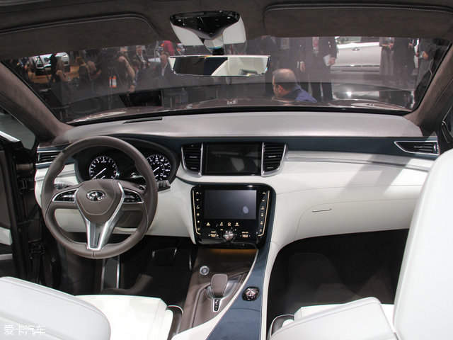 英菲尼迪全新QX50申报图 向概念车看齐