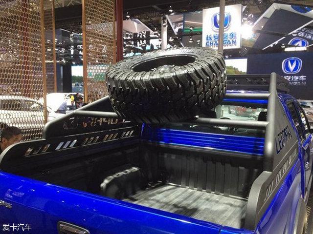 猎豹CT7皮卡将1月12日上市 提供四驱版