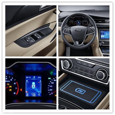空调控制按钮也从触摸按键改为了物理按键,营造出整车内饰时尚,科技