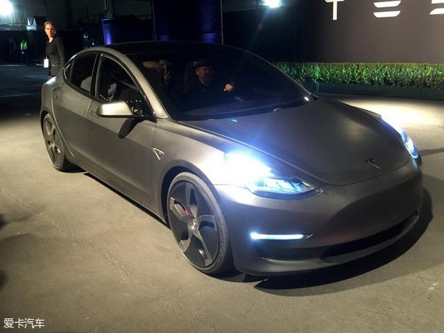 特斯拉Model 3将6月亮相 或推高性能版