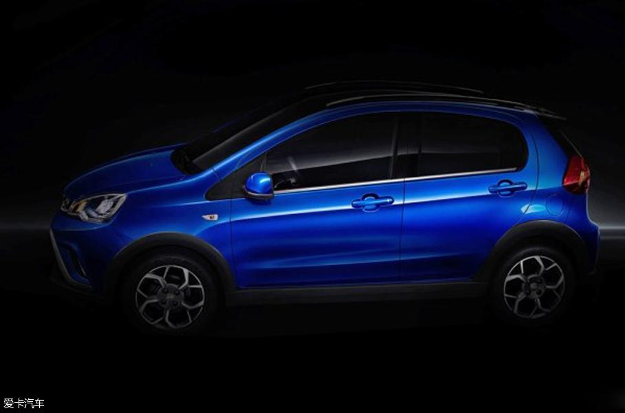 吉利全新小型SUV V01官图 将二季度上市
