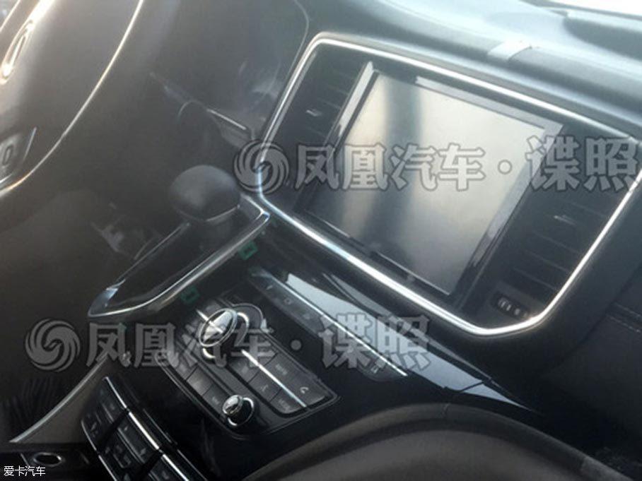 广汽传祺GM8内饰曝光 将上海车展首发