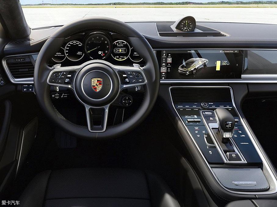 Panamera插电混动新车官图 日内瓦发布