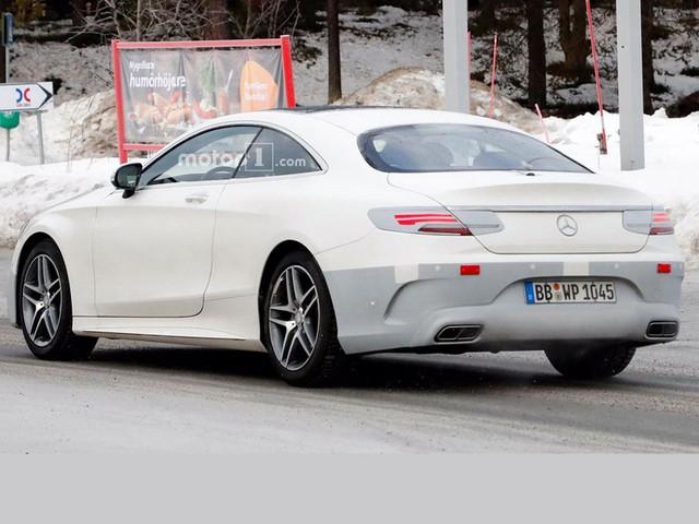 奔驰新款S级Coupe谍照 将换装动力总成