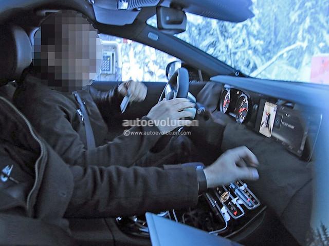 奔驰全新一代CLS级内饰谍照 2018年发布