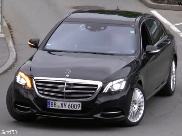 奔驰新款S级谍照 将3月日内瓦车展首发