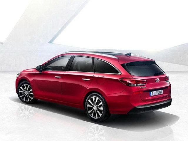 现代i30旅行版官图 将日内瓦车展发布