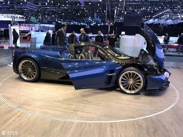 日内瓦车展:帕加尼Huayra敞篷版亮相