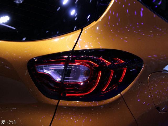 2017成都车展:雷诺新款卡缤国内首发