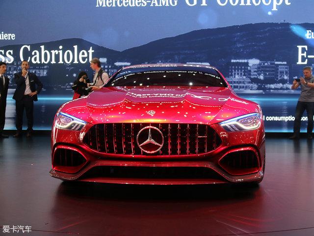 2017日内瓦车展 AMG GT4概念车正式发布