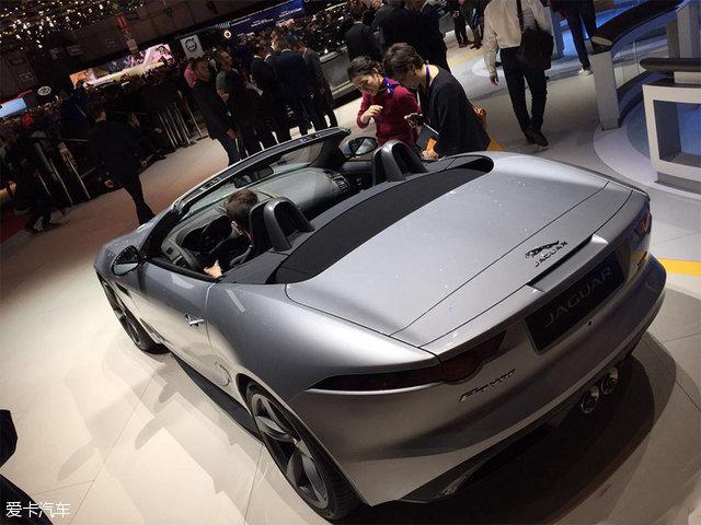 2017日内瓦车展:捷豹新款F-TYPE发布