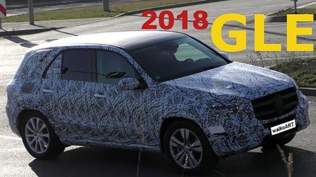 奔驰全新一代GLE谍照 或将2018年发布