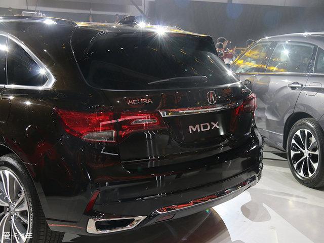 讴歌新款MDX正式亮相 将于6月份上市