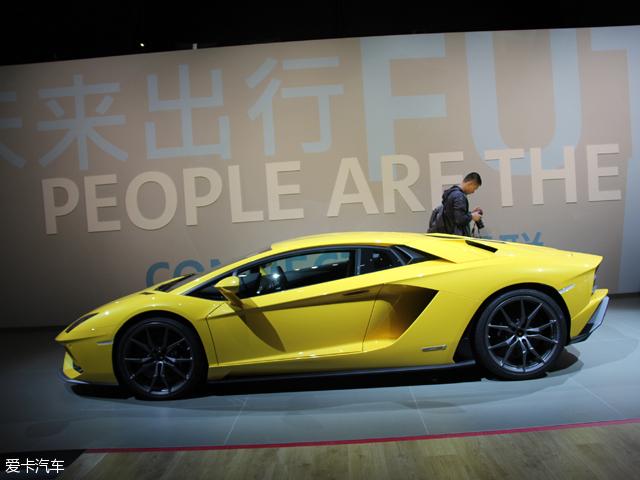 2017上海车展 兰博基尼Aventador S发布