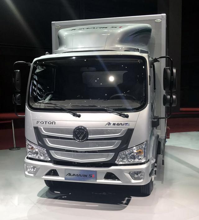 上海车展:欧马可S1超级轻卡中国首发