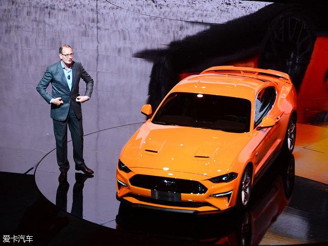 福特新款Mustang正式发布 下半年上市