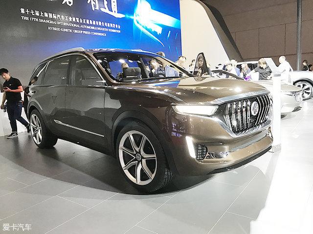 2017上海车展:正道K750 SUV正式发布