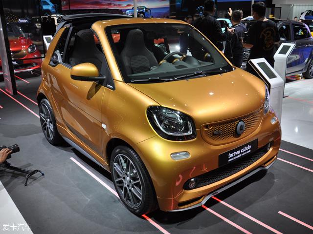 2017上海车展 smart BRABUS特别版上市