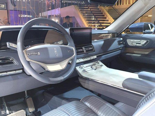 2017上海车展 林肯全新领航员国内首发