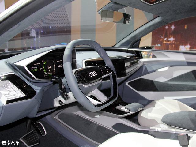 2017上海车展:奥迪e-tron概念车亮相