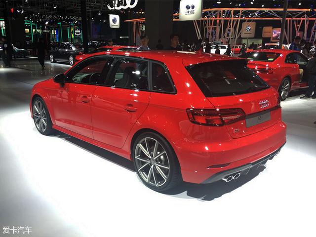 新款奥迪S3 Sportback亮相上海车展