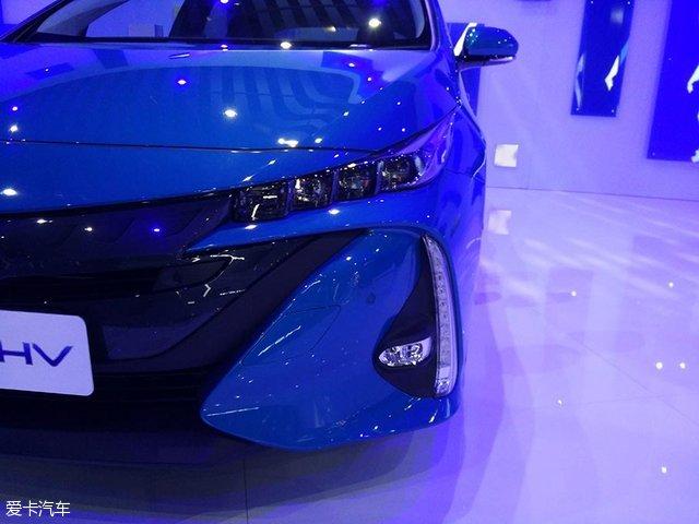 丰田普锐斯Prime2017上海车展国内首发
