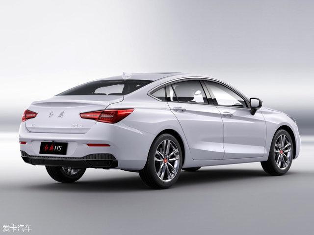 红旗全新B轿车H5官图发布 有望12月上市