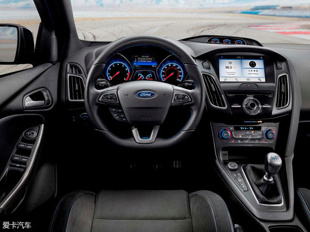 福特福克斯RS特别版官图 专为漂移而生