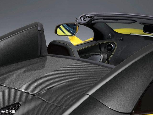 迈凯伦570S敞篷版官图 将6月29日首发