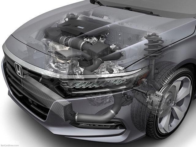 全新一代雅阁首发 首搭涡轮增压发动机