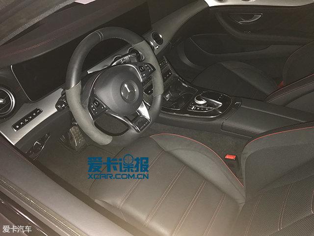 成都车展探馆:奔驰E43 AMG特别版抢先看