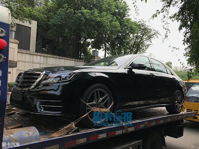 2017成都车展探馆:奔驰S450L抢先曝光