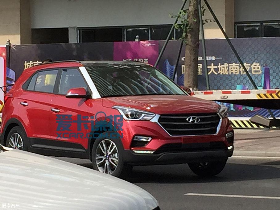成都车展探馆:北京现代新款ix25抢先拍