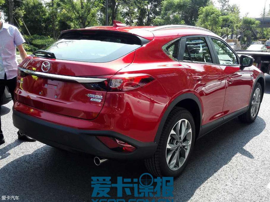 成都车展探馆:马自达新款CX-4抢先看