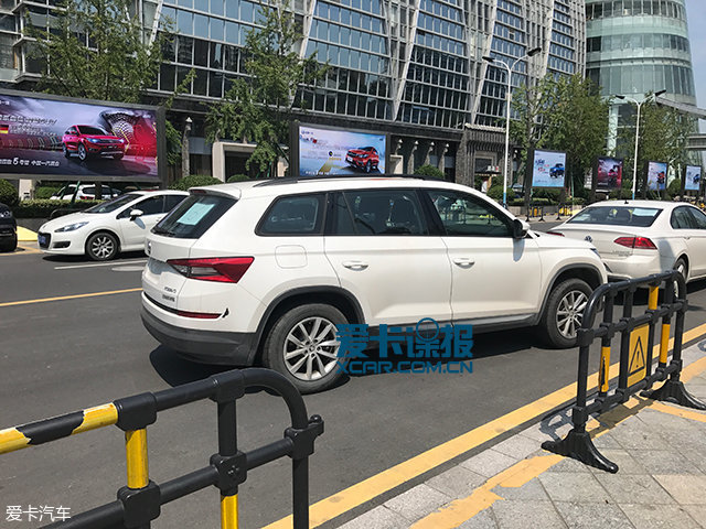 成都车展探馆:柯迪亚克1.4T车型抢先看