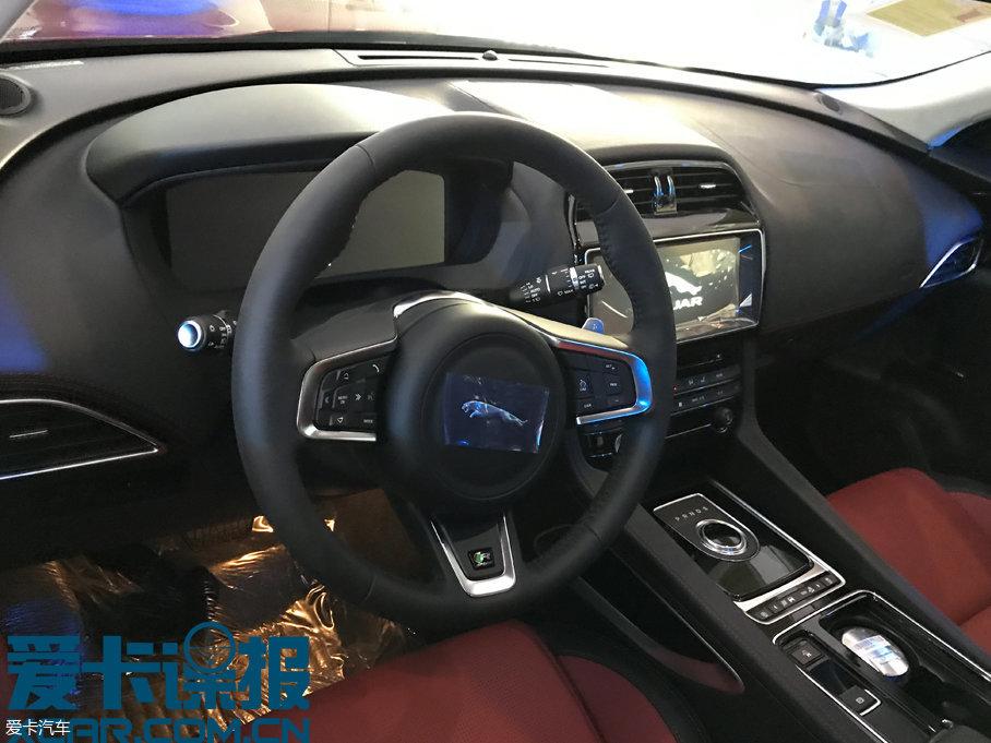 成都车展探馆:2018款捷豹F-PACE抢先看