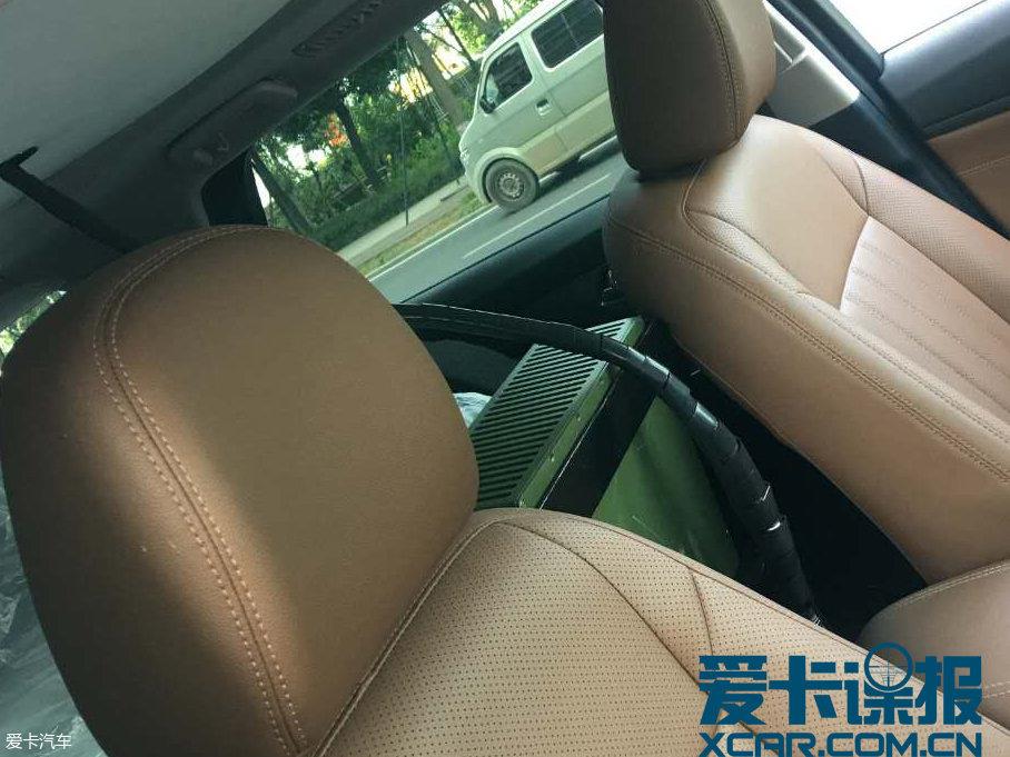 成都车展探馆:长安CS95特别版抢先看