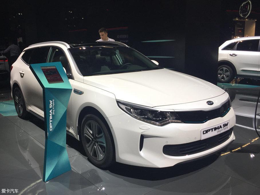 法兰克福车展 起亚新K5混动旅行版发布