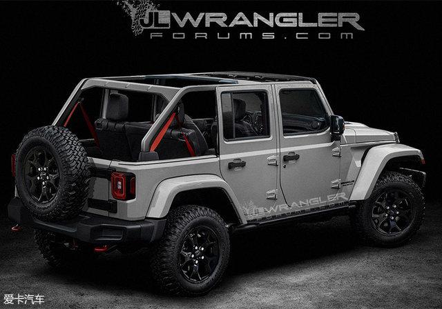 Jeep全新牧马人