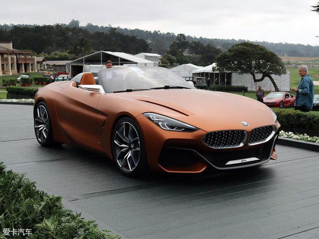 宝马新一代Z4概念车