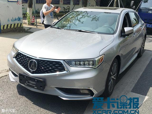 2017成都车展探馆:广汽讴歌TLX-L量产版