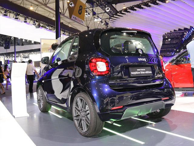 smart特别版成都车展上市售14.5888万起