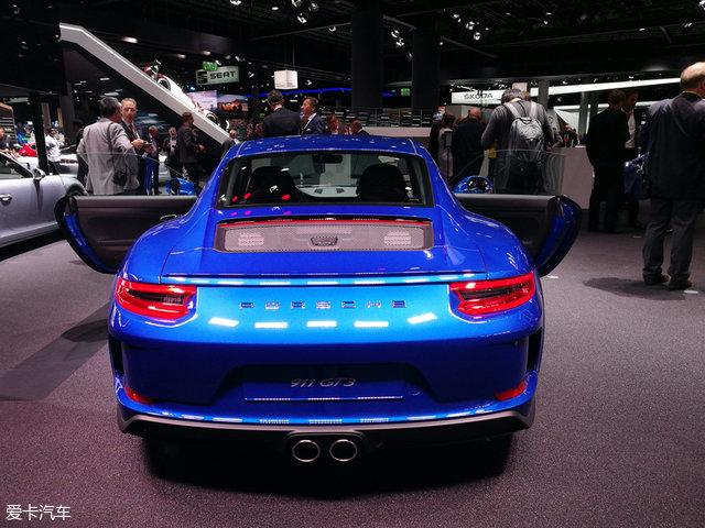 法兰克福车展:保时捷911 GT3特别版亮相