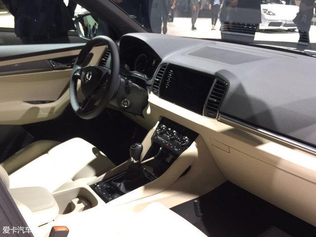 2017法兰克福车展 斯柯达KAROQ正式发布