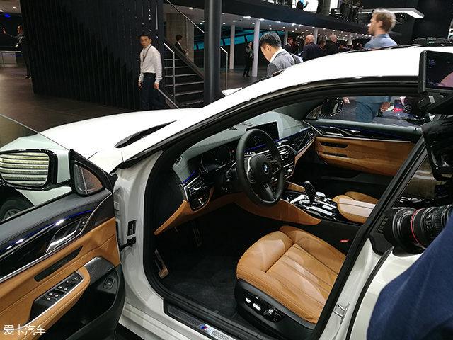 2017法兰克福车展:宝马6系GT正式发布