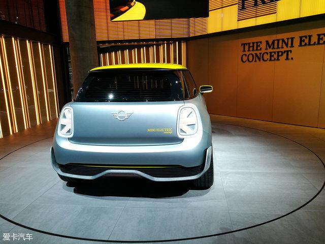 法兰克福车展:MINI E概念车正式发布