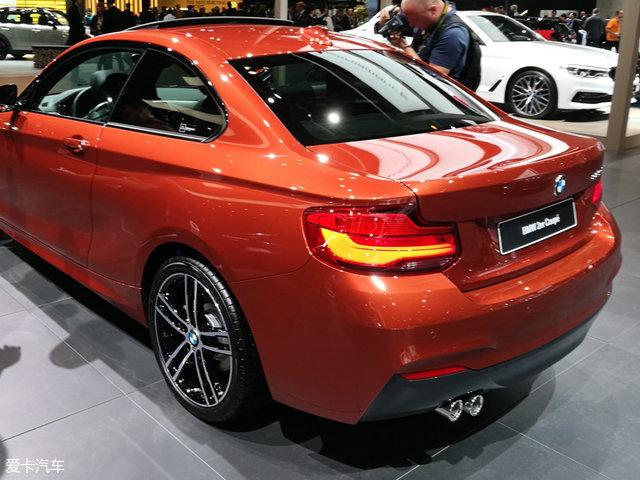 法兰克福车展 宝马新2系Coupe正式亮相