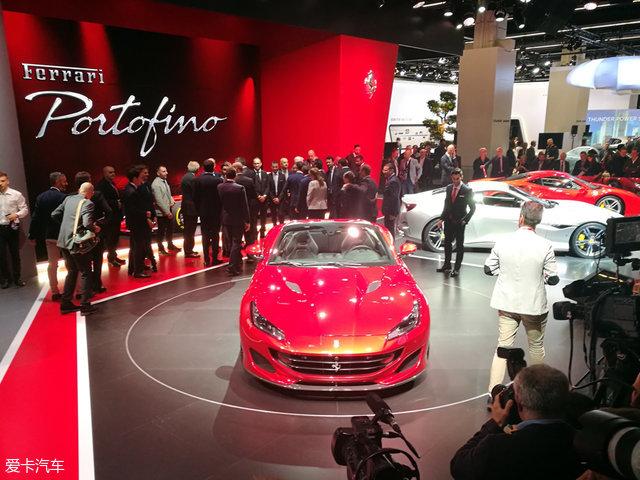 法兰克福车展 法拉利Portofino正式发布